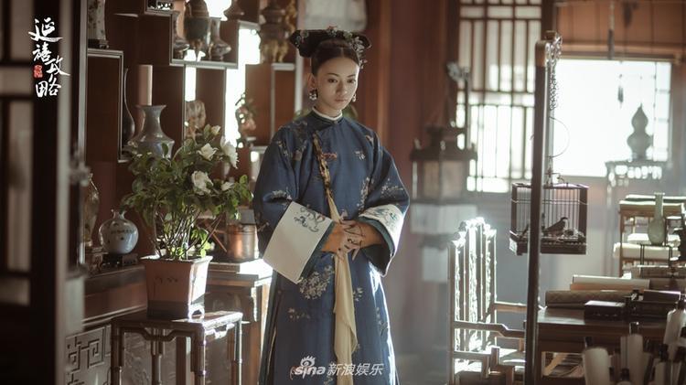 Nữ diễn viên trẻ Ngô Cẩn Ngôn có sự thể hiện không hề thua kém các tiền bối.