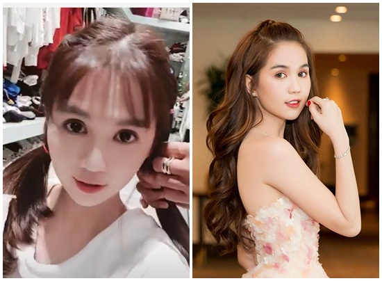 Ngọc Trinh trông trẻ ra hơn 10 tuổi khi diện kiểu tóc này
