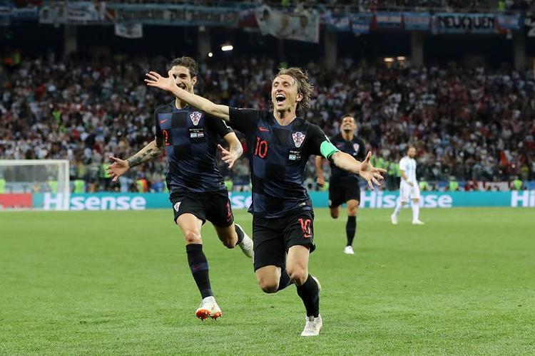 Luka Modric và các đồng đội đang viết nên chuyện cổ tích ở World Cup 2018. Ảnh: FIFA