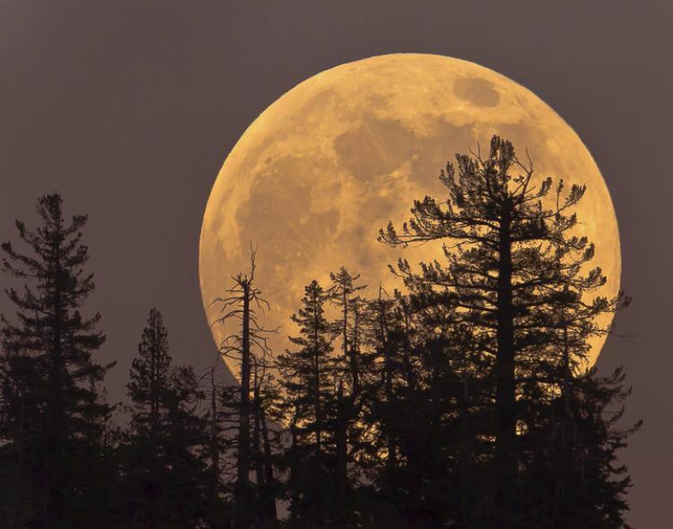 Hiện tượng siêu trăng.