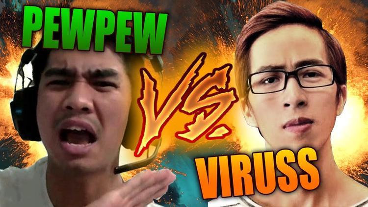 Mối quan hệ giữa Pewpew và Viruss luôn khiến người ta tò mò.