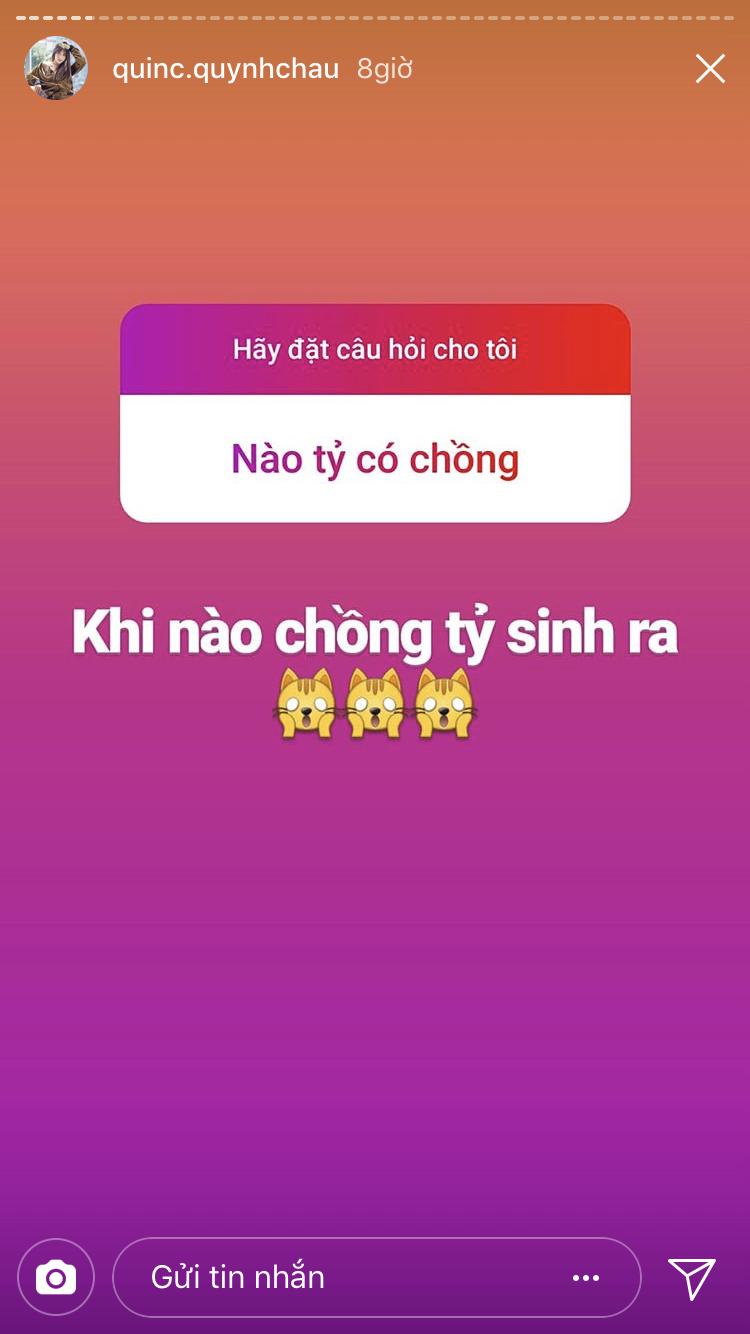 Mối nhân duyên của Quỳnh Châu thật sự… mông lung.