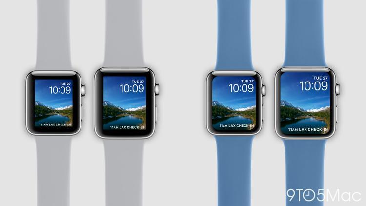 Theo dự đoán của Ming-Chi Kuo, Apple Watch phiên bản mới sẽ được trang bị màn hình với kích thước lớn hơn, bao gồm 2 phiên bản có kích thước lần lượt là 1.57 inch và 1.78 inch.