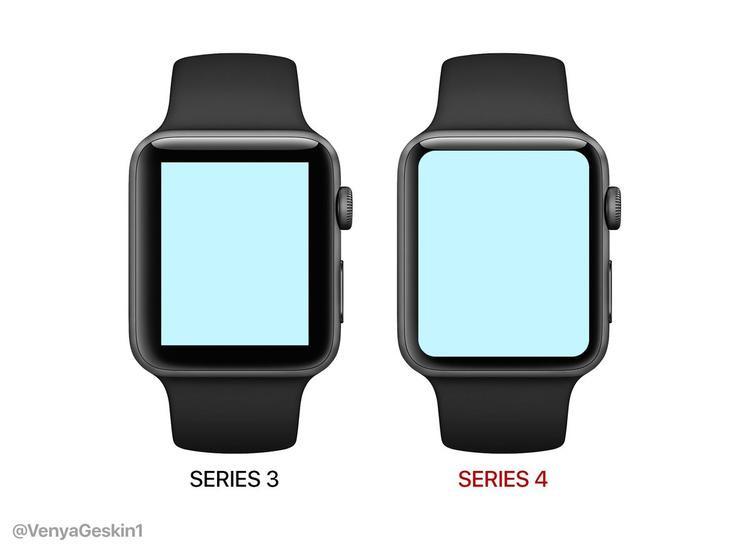 Cũng theo chuyên gia này nhận định, mặc dù thế hệ Apple Watch Series 4 sẽ được trang bị màn hình lớn nhưng kích thước tổng thể của máy vẫn không thay đổi.