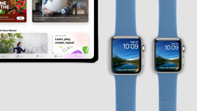 Cận cảnh iPad Pro và Apple Watch Series 4 mới với thiết kế đẹp không tì vết