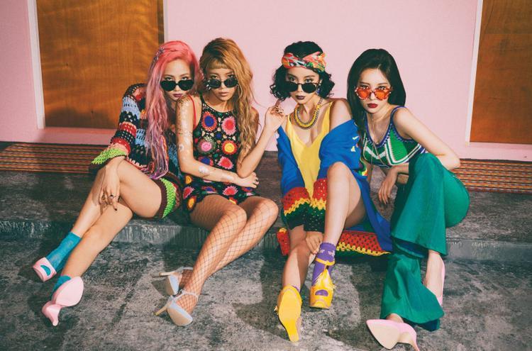 Lên đồ party như Wonder Girls.
