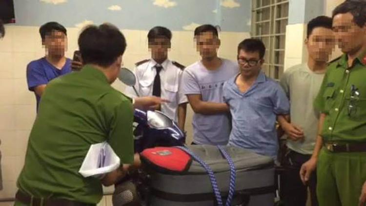 Một đàn em trong đường dây của Hiệu bị bắt. Ảnh: Vietnamnet.