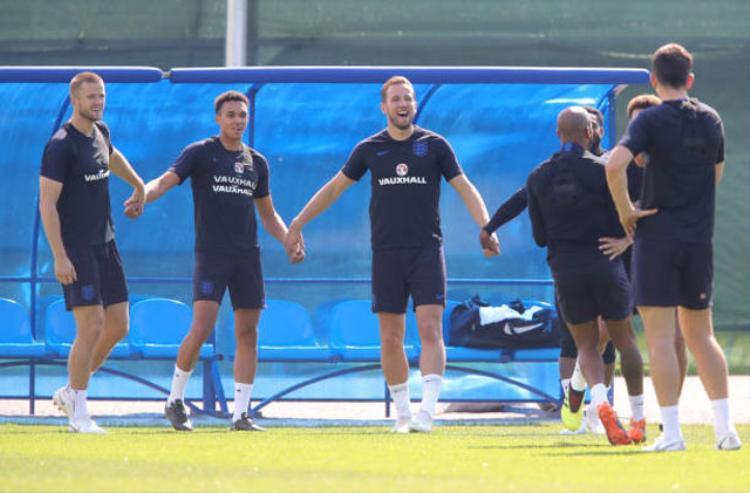 """Các cầu thủ Anh đang tỏ ra hết sức quyết tâm nhằm đánh bại Bỉ để """"chuộc lại lỗi lầm""""."""