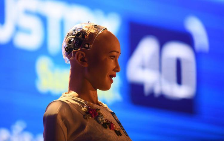 Robot Sophia khen khéo Sơn Tùng M-TP khiến giới trẻ Việt Nam thích thú