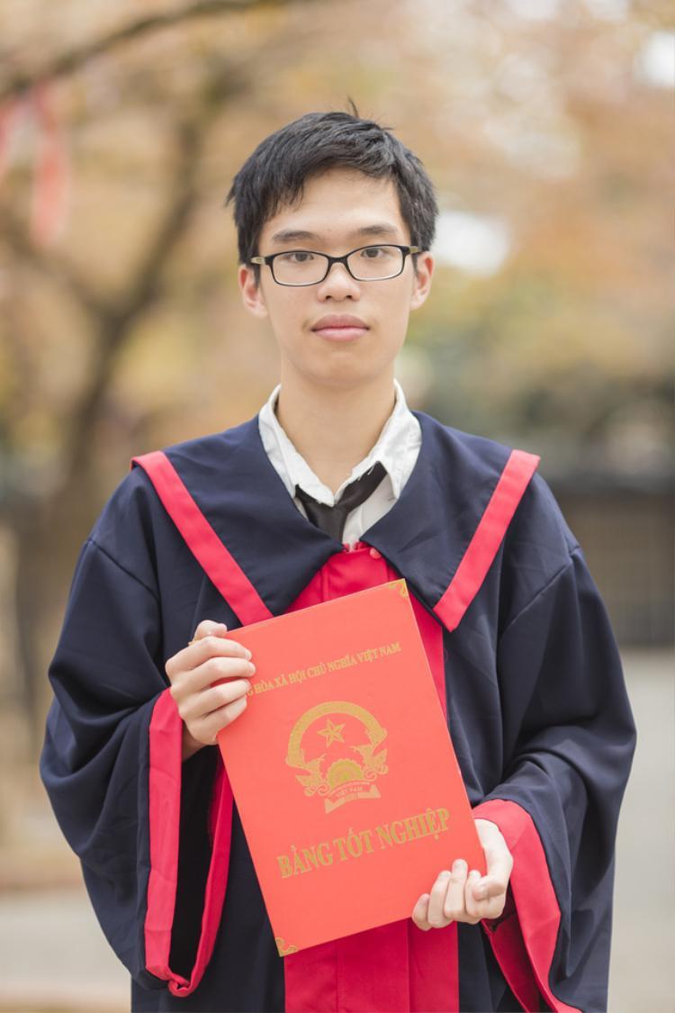 Nguyễn Thanh Phong - thủ khoa khối C tỉnh Nghệ An trong kỳ thi THPT quốc gia 2018