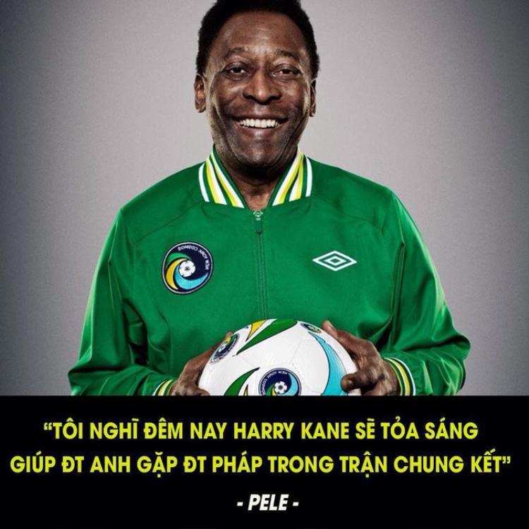 Cộng đồng mạng đang chế ảnh bịa đặt về Vua bóng đá Pele. Ảnh: FACEBOOK