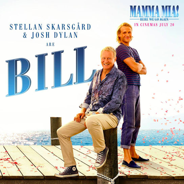 Stellan Skarsgard và Josh Dylantrong vai Bill.