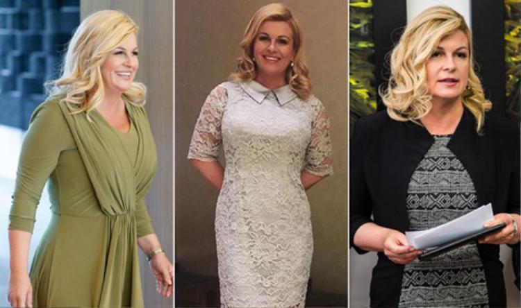 Nữ tổng thống khéo léo kết hợp các màu sắc khác nhau để vẻ ngoài không khiến người khác nhàm chán.