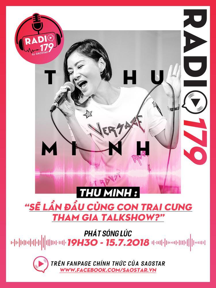Teaser Radio 179: Thu Minh sẽ lần đầu cùng con trai cưng tham gia talkshow?