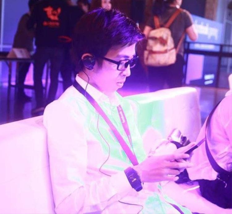 Hình ảnh của ViruSs tại sự kiện ở Thái Lan. Ảnh: FBNV.