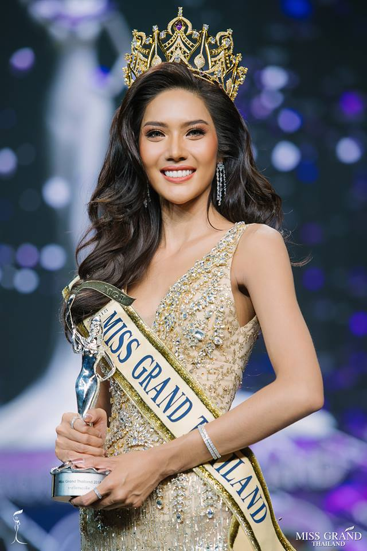 """Bởi ngay từ khi Miss Grand Thailand 2018 diễn ra, cô đã được đánh giá cao và sở hữu về cho mình một lượng fan """"khủng""""."""