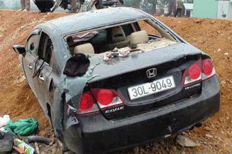 Chiếc xe bị truy đuổi trong vụ án.