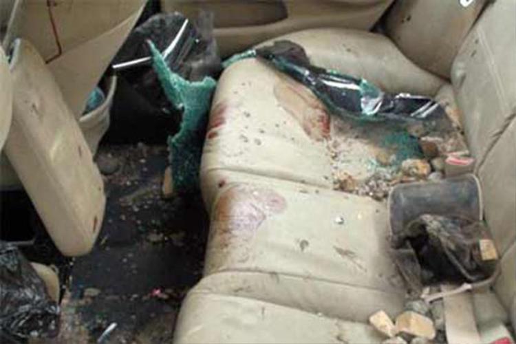Hình ảnh băng ghế sau của chiếc xe.