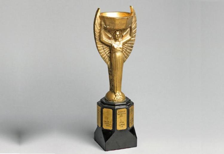 Trước đây, cúp Jules Rimet là giải thưởng của các kì World Cup.