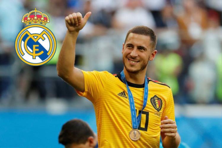 Hazard sẵn sàng chi tay Chelsea để gia nhập Real. Ảnh: Getty.
