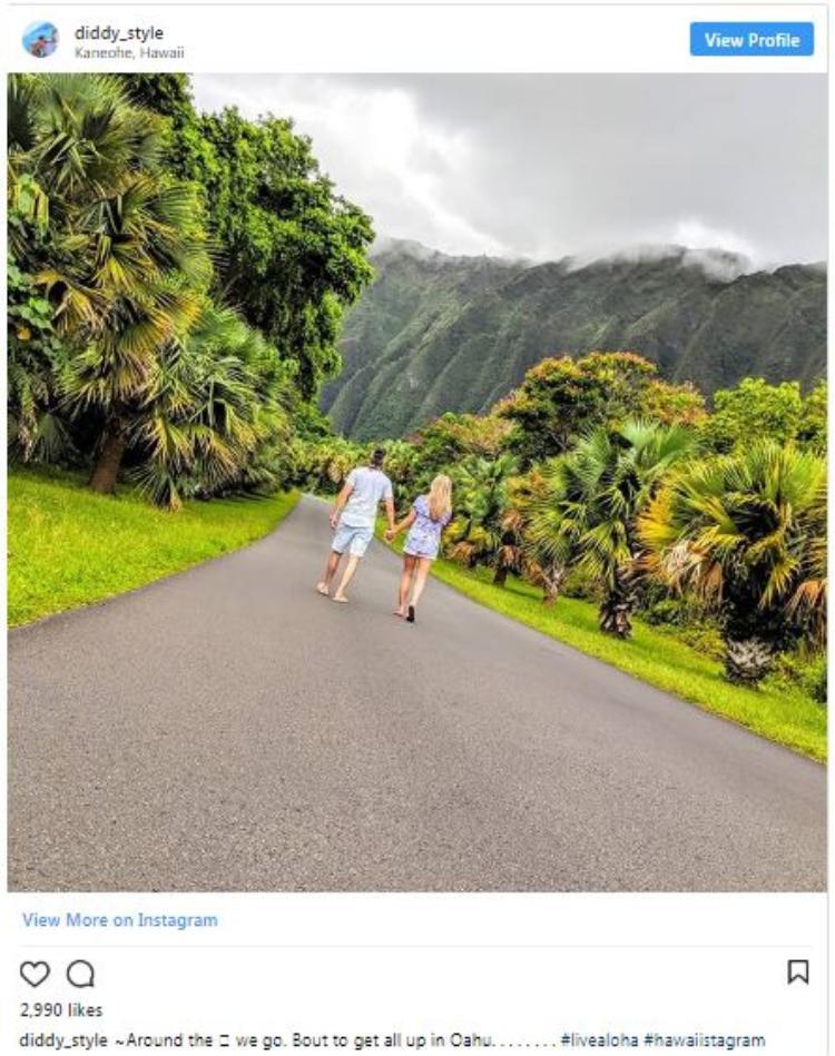 Hawaii cũng là một trong những địa điểm du lịch thu hút nhiều sự chú ý.