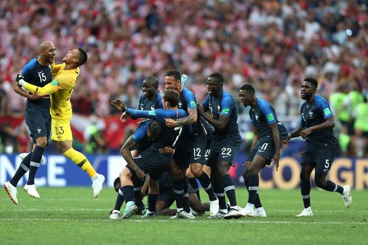 Pháp lần thứ 2 vô địch World Cup. Ảnh: FIFA