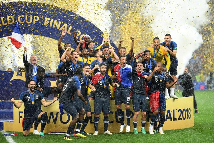 Pháp vô địch nhờ hưởng quả phạt đền ở cuối hiệp 1. Ảnh: FIFA