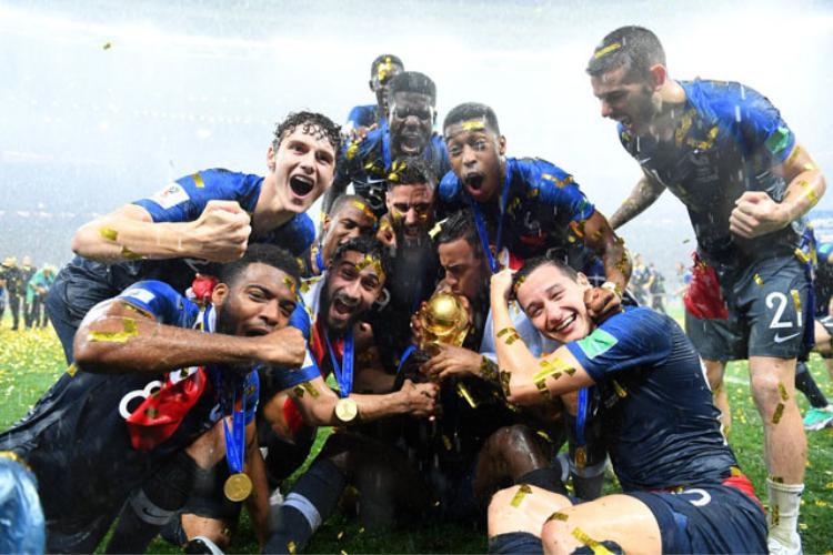 Pháp vô địch sau chiến thắng thuyết phục trước Croatia. Ảnh: Getty.