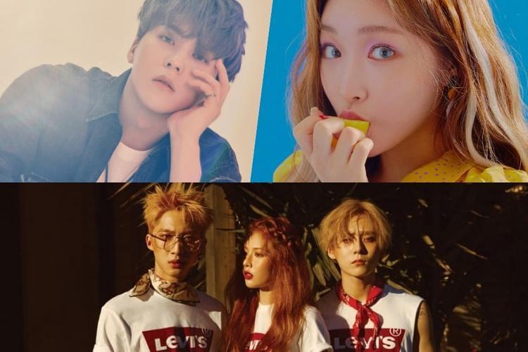 Son Dongwoon (thành viên nhóm nhạc Highlight) sẽ phát hành single solo tiếng Hàn Quốc đầu tiên của mình vào ngày 18/7. Chungha cũng rịch rịch thông báo từ trước và quyết định ngày comeback trở lại là ngày 18/8 với mini album Blooming Blue, trong đó có ca khúc chủ đề Love U. Triple H (HyunA, PENTAGON's Hui và E'Dawn) cũng đã gửi thông báo đến người hâm mộ quay trở lại vào ngày này với mini album Retro Futurism.
