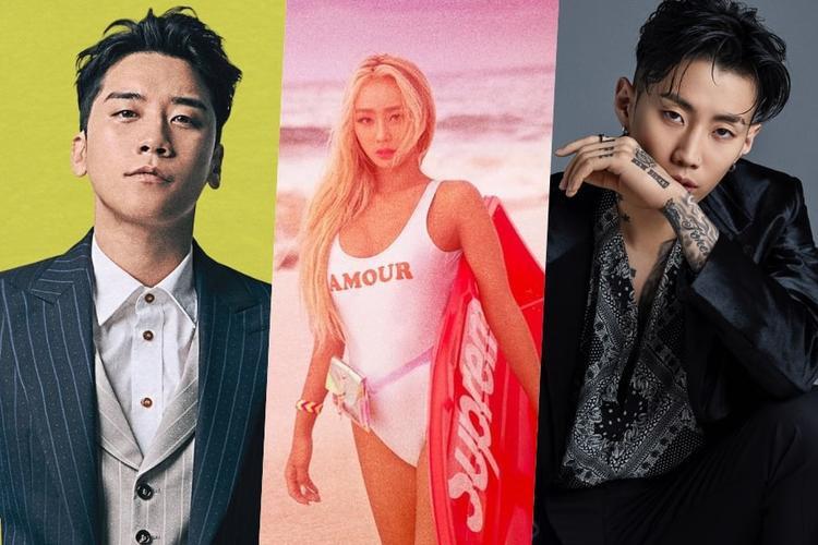 """Ngày 20/7 tới đây, Seung Ri với tư cách một nghệ sĩ solo sẽ """"trình làng"""" album The Great Seungri.Album này sẽ bao gồm ca khúc chủ đề 1,2,3 và ca khúc kết hợp với Song Mino của WINNER - Where RU From. Hyolyn cũng sẽ phát hành phần ba trong dự án Set Up Time của cô cùng ngày với tiêu đề See Sea. Jay Park sẽ """"thả"""" mini album đầu tay của mình vào thị trường Mỹ vào ngày 20/7 bằng đĩa đơn FSU . Mùa hè năm ngoái, Jay Park đã ký hợp đồng với hãng Roc Nation của Jay-Z."""