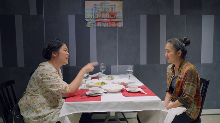 Mối quan hệ mẹ-con của bà Mai và Hương căng thẳng tột đỉnh.