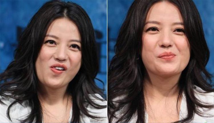 Hình ảnh kém duyên của nữ diễn viên