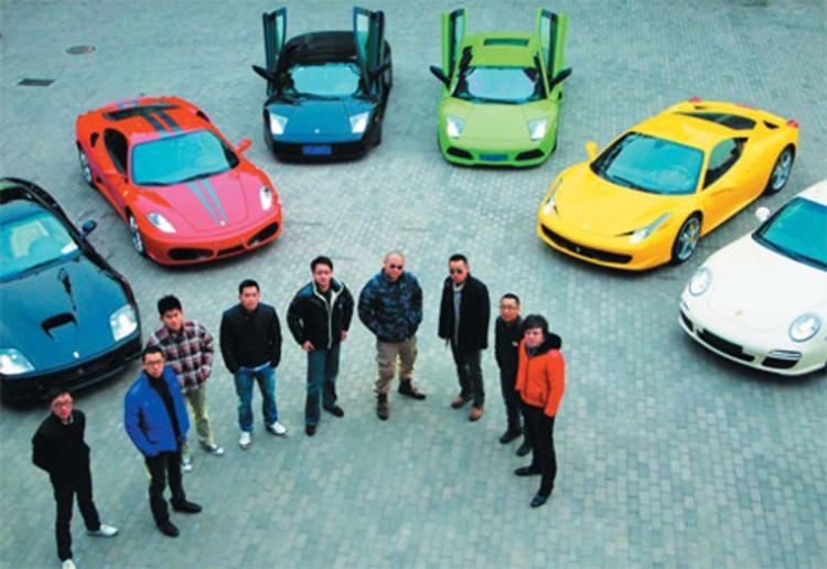 Câu lạc bộ 'Vancouver Dynamic Auto Club' của David Dai.