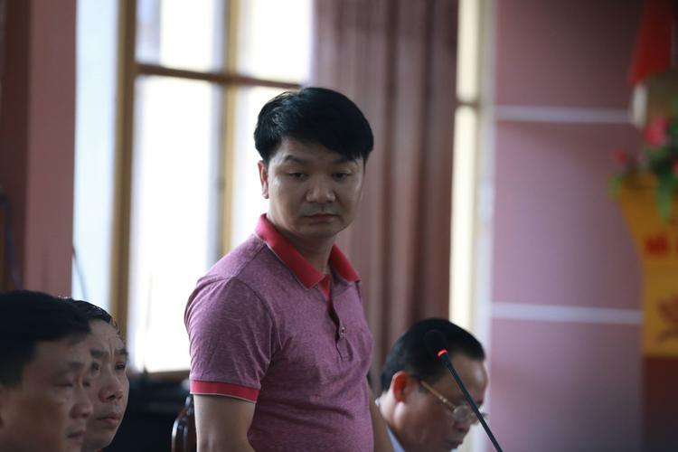 Đại diện PA83 (Công an tỉnh Hà Giang) thông tin.