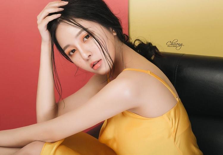 Hình ảnh hot girl Trâm Anh hiện tại