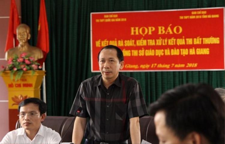 Ông Trần Đức Quý, Phó chủ tịch UBND tỉnh Hà Giang.