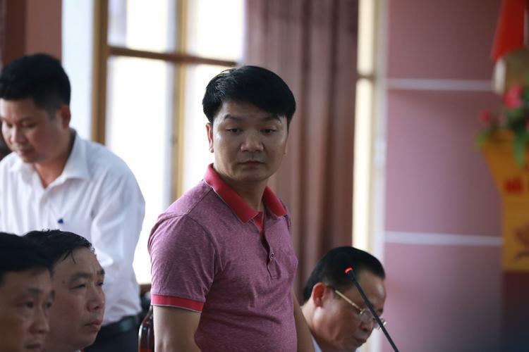 Đại diện PA83, Công an tỉnh Hà Giang thông tin trong buổi họp báo.