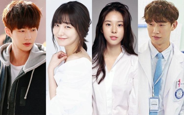Song Jae Rim, Shin So Yul, Seo Eun Soo vàKang Ki Young (từ trái sang phải).