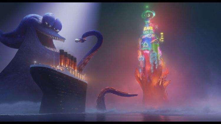 Trung tâm giải trí số dzách hoành tráng tựa trong mơ đã thu hút đoàn quái vật Transylvania tới quẩy banh nóc.