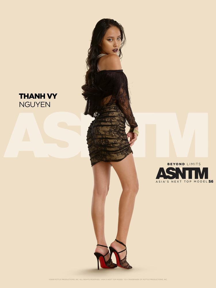 Nguyễn Thanh Vy (Rima Nguyễn) là cái tên duy nhất đại diện Việt Nam tại Asia's Next Top Model.