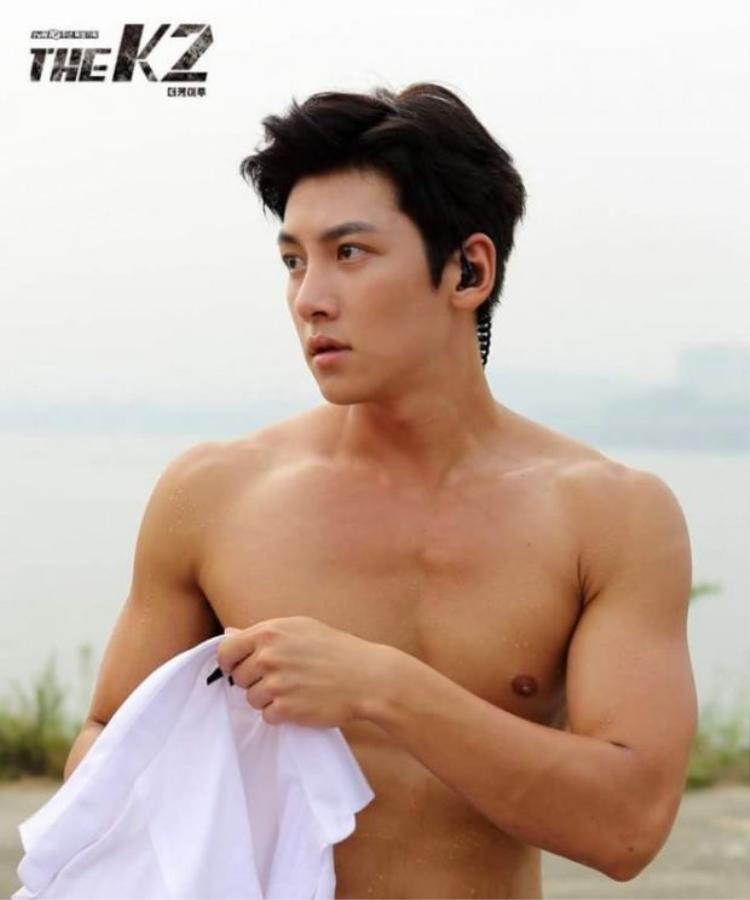 """Body """"cực phẩm"""" của Ji Chang Wook."""