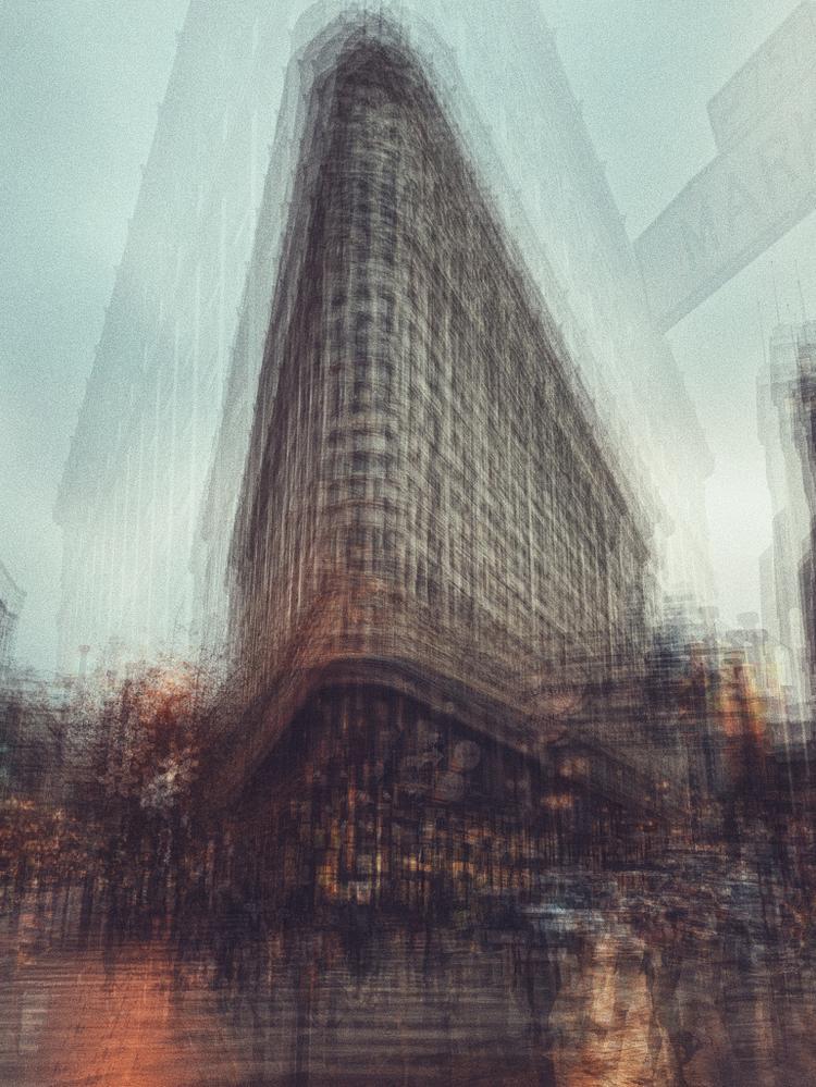 """Giải nhất Hạng mục Series - """"Urban Impressionism"""": Chụp bằng iPhone X. (Cocu Liu)"""