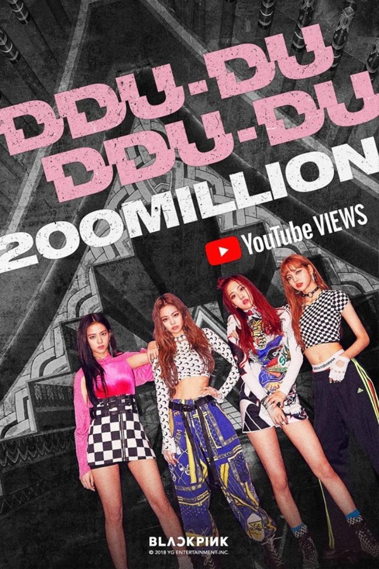 Trân trọng thông báo: BlackPink vừa vượt BTS, thiết lập kỉ lục MV Kpop đạt 200 triệu lượt xem nhanh nhất