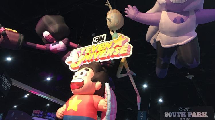"""Cartoon Network ưu ái quảng bá cho """"Steven Universe"""" tại SDCC 2018."""
