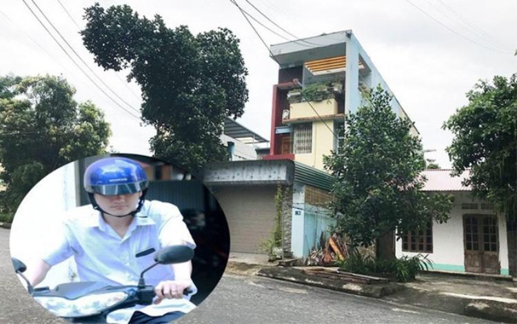 Căn nhà nơi ông Lương đang sinh sống.