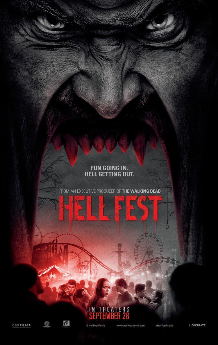 Poster đầy ám ảnh của bộ phim.