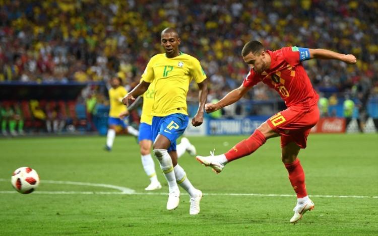 Hazard đã có một kỳ World Cup đầy ấn tượng trong màu áo ĐT Bỉ. Ảnh: Fifa.com.