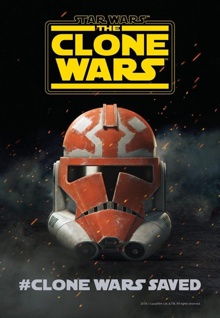 """""""The Clone Wars"""" tung ra poster chính thức."""