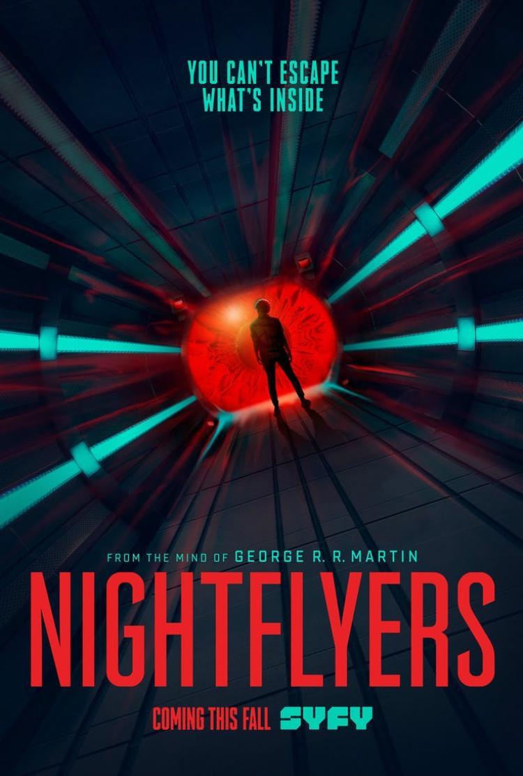 """Poster chính thức của """"Nightflyers""""."""