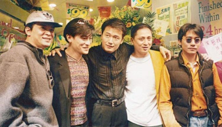 """""""Ngũ hổ tướng"""" của TVB năm xưa."""